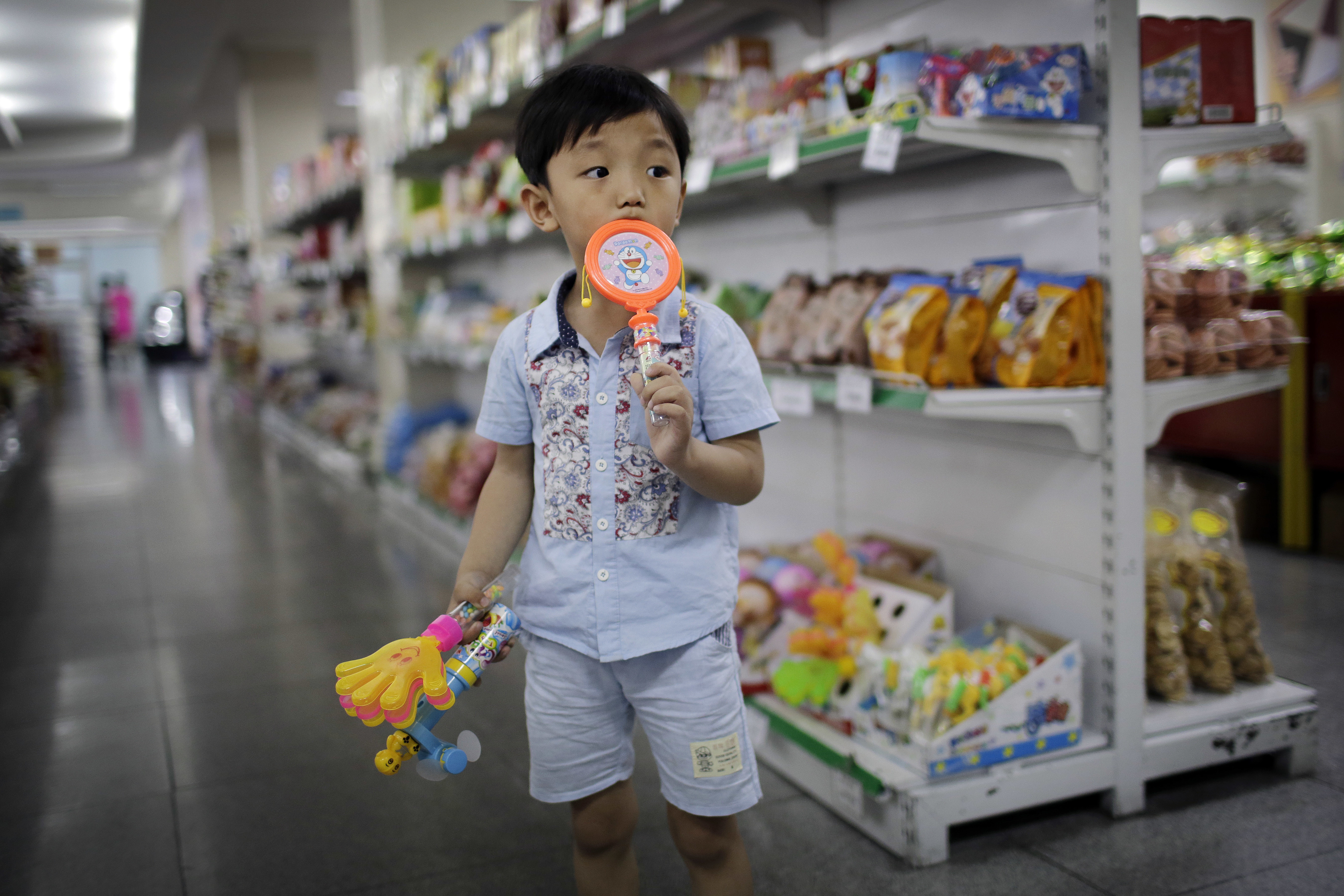 ▲▼美國智庫指出,近來北韓物價異常穩定,可能與中國援助有關。(圖/達志影像/美聯社)