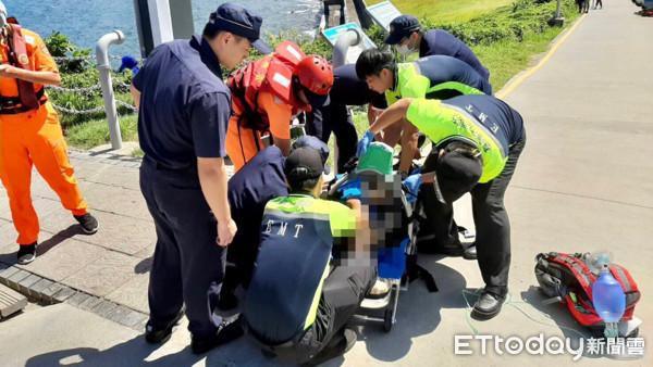 快訊/基隆潮境公園男潛水客溺水 送醫搶救宣告不治