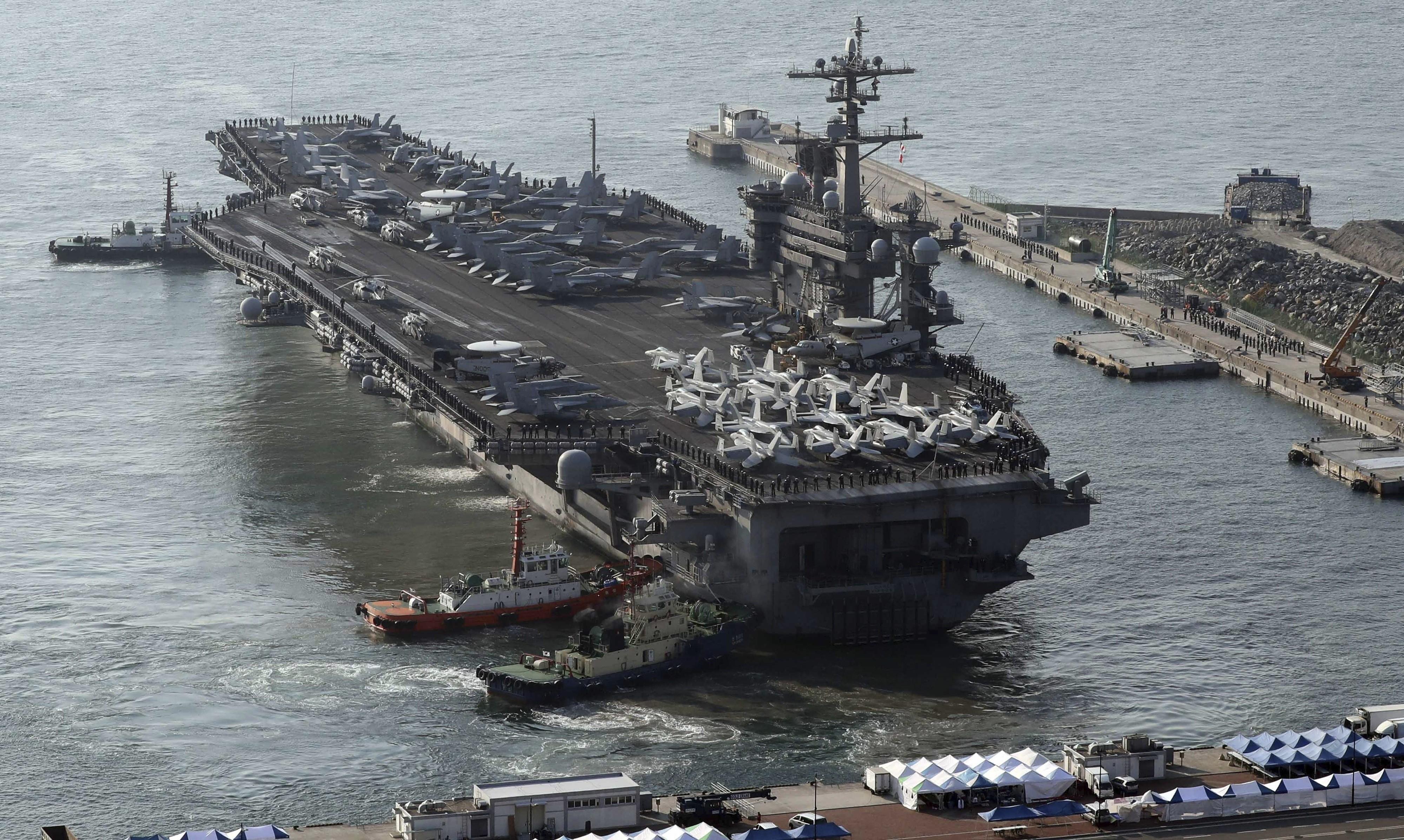 ▲▼今年8月的美韓聯合軍演,受疫情影響,將大幅縮減規模。(圖/達志影像/美聯社)