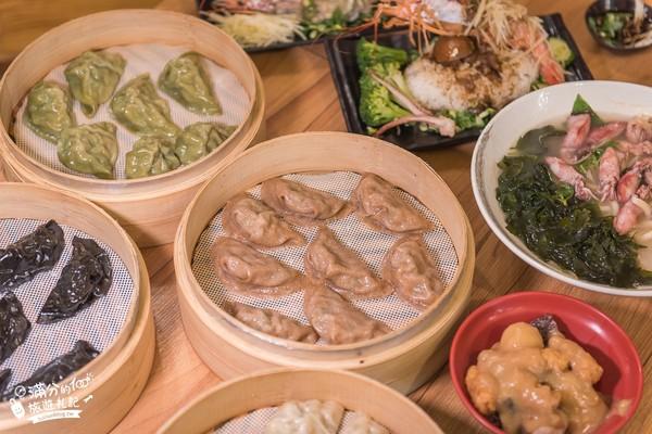 天使紅蝦蒸餃整尾端上!苗栗超浮誇餐館 小卷湯麵料多鮮甜