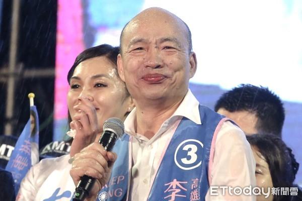 韓國瑜:挺言論自由、反萊豬進口 這才是愛台灣的正確姿勢