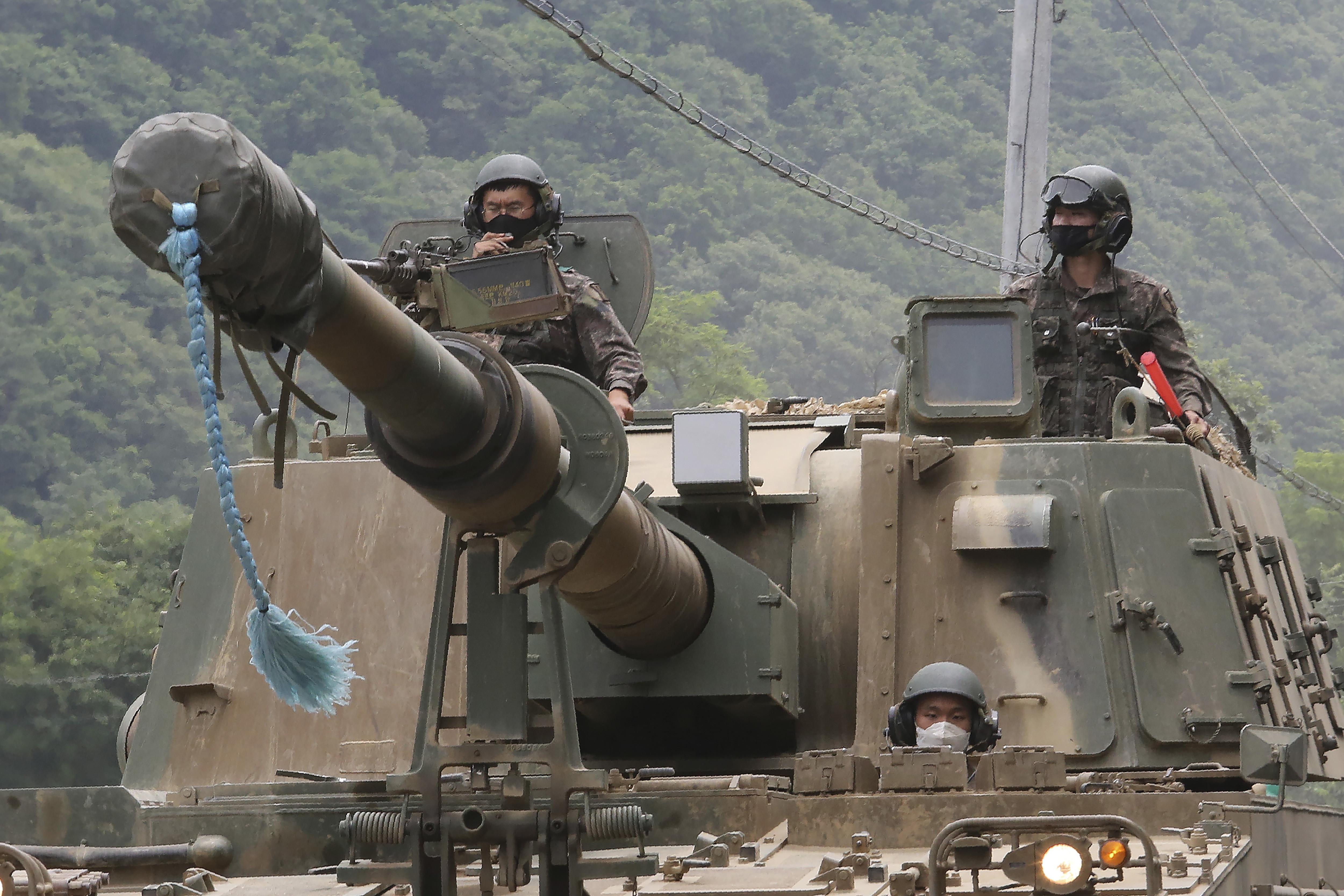 ▲▼美韓聯合軍演因1名大田陸軍幹部確診,延後2天舉行。(資料照/達志影像/美聯社)