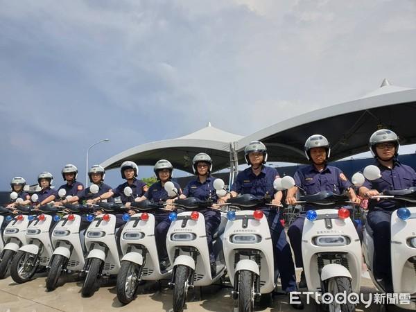 熱心企業捐贈 台南GOGORO電動騎警隊成行邁向低碳智慧城市 | ETt
