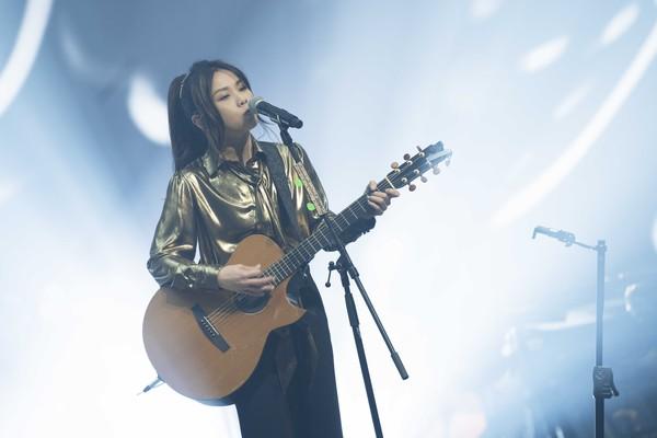 ▲▼蔡健雅線上演唱會。(圖/騰訊音樂娛樂提供)