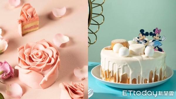 七夕限定!BAC極浪漫「粉色玫瑰蛋糕」回歸了 加碼Q版米奇米妮款超欠送
