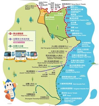 台灣好行新路線正式通車 提供完整宜蘭海岸線旅遊體驗