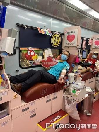 ▲▼房仲,公益日,新北,東森房屋,捐血。(圖/東森房屋提供)