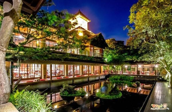 一秒飛京都!台中日式庭院餐廳 禪意建築+空靈綠意美如畫   ETtoda