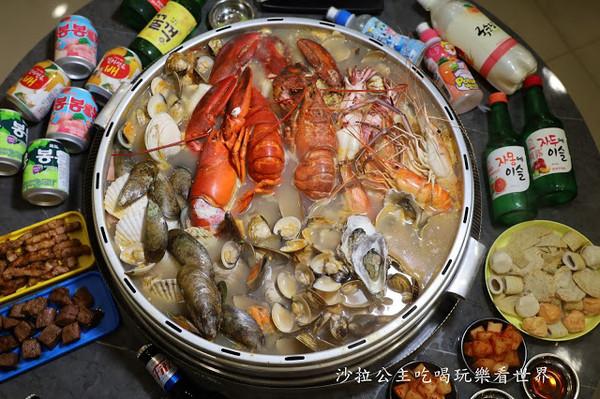 龍蝦、生蠔鋪滿整鍋!新竹浮誇痛風海鮮鍋 魚板吸飽鮮甜湯汁   ETtod