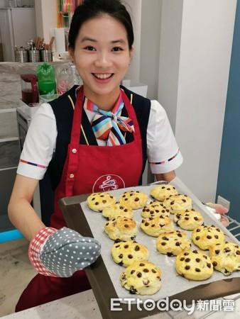 七夕到甜空姐 體驗蛋糕烘焙DIY