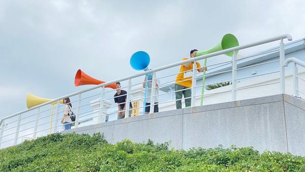 基隆「8處新景點」有巨大魟魚、沙灣villa!搭時空飛船漫遊過去