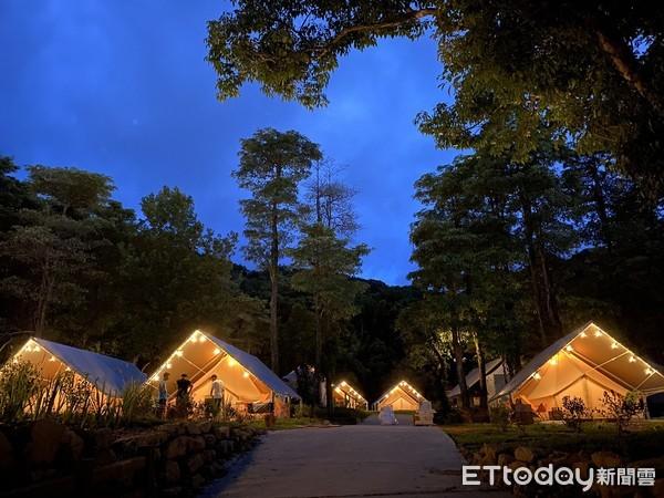 基隆豪華露營「拉波波村」試營運!南法童話村莊「1泊3食1人3000」 |