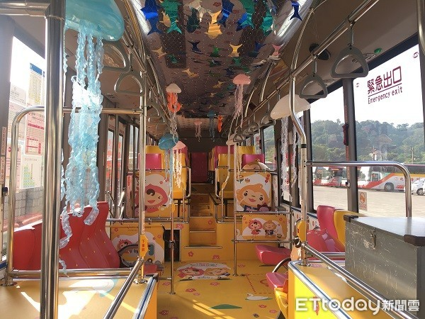 療癒水母陪你搭公車玩桃園 拍照打卡抽Xpark好禮 | ETtoday生
