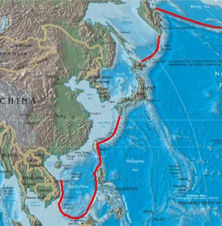澳洲,英國,美國,核潛艦,解放軍,制海權,第一島鏈,彈道飛彈,五眼聯盟,印太戰略