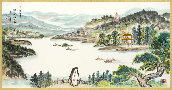 「警界儒將」蔡俊章作畫超過半世紀 70歲個人畫展中正紀念堂展出 | ET