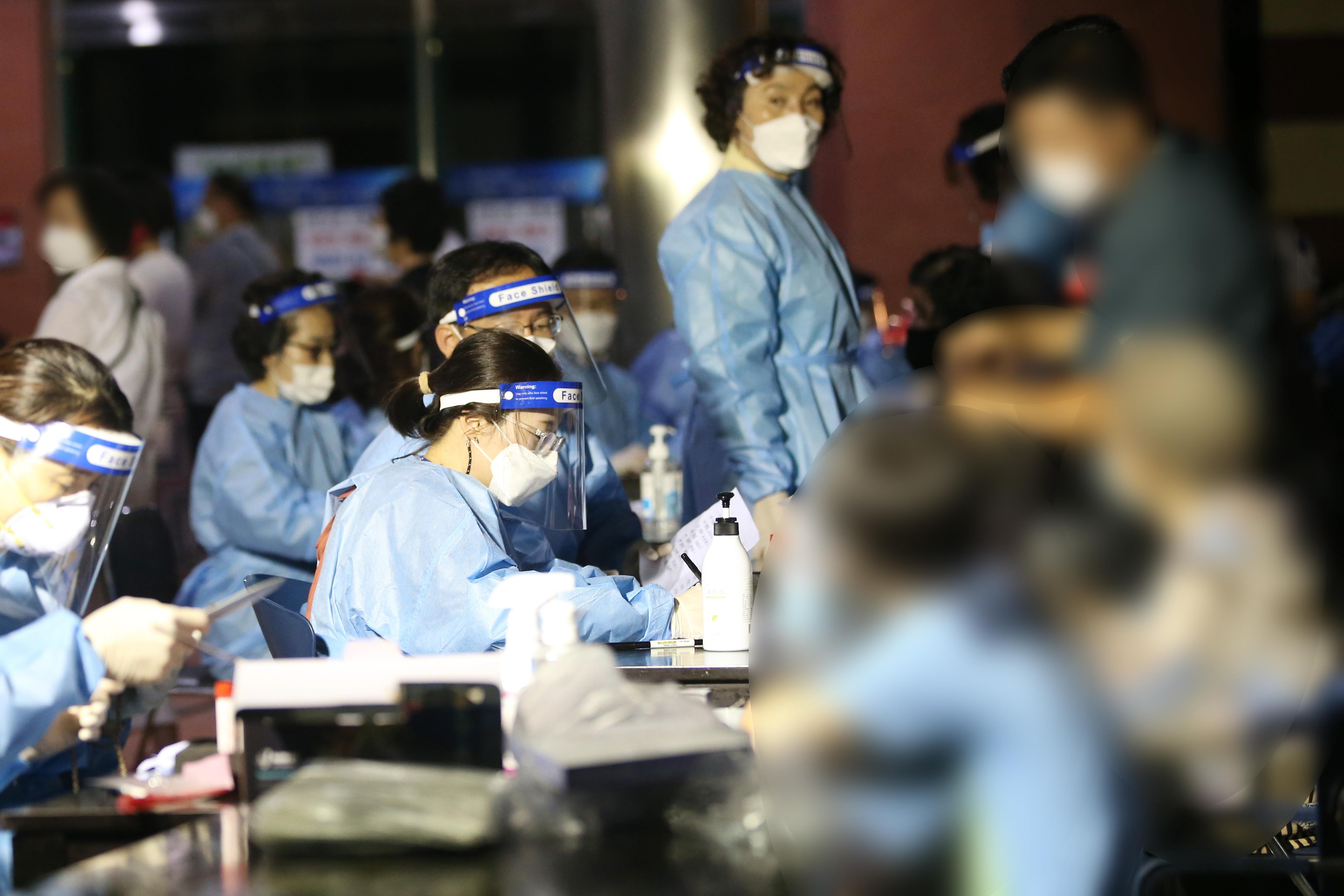 ▲▼南韓光州也發生教會群聚感染。(圖/達志影像)