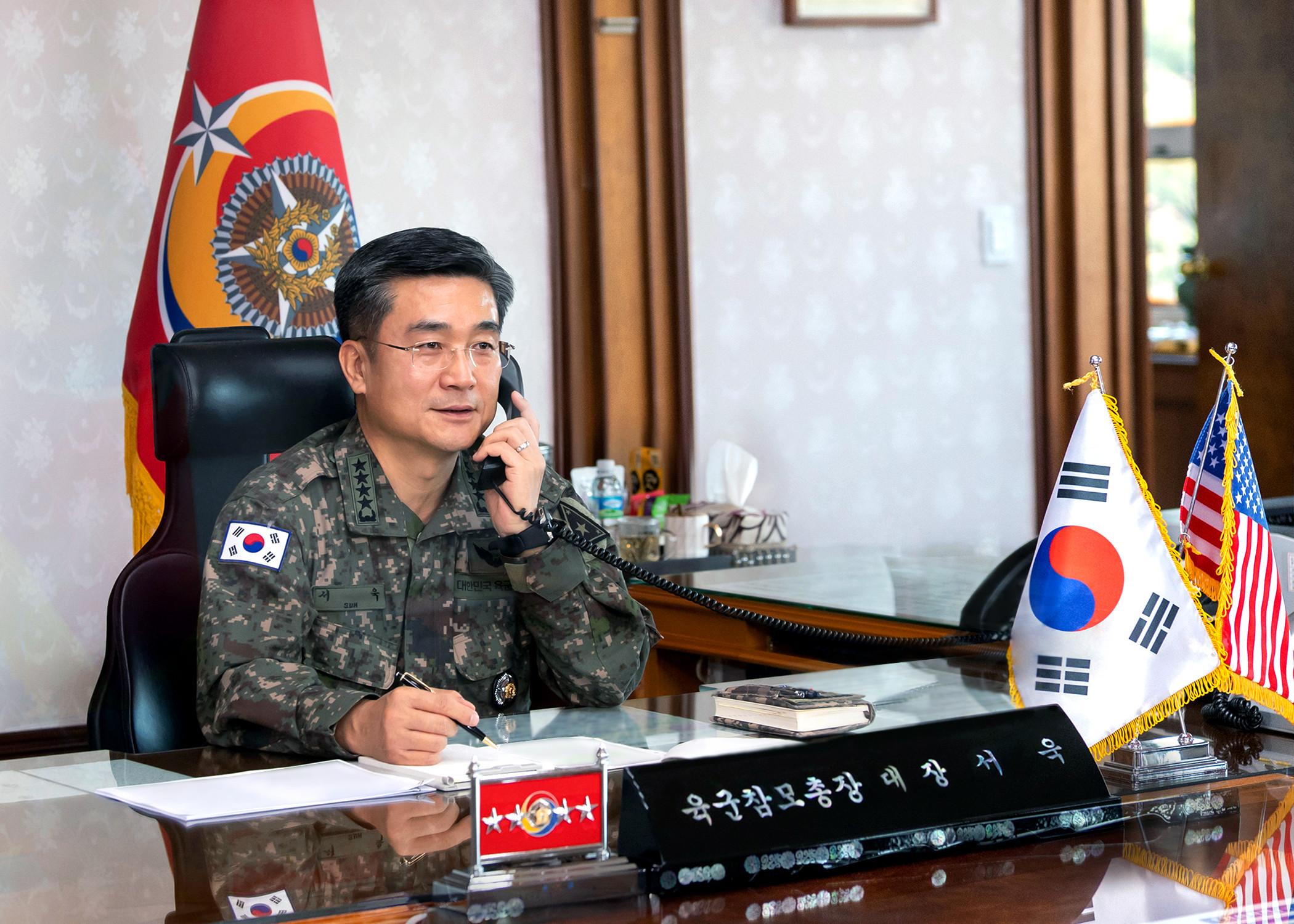 ▲▼南韓總統文在寅指定徐旭為新任國防部長。(資料照/達志影像)