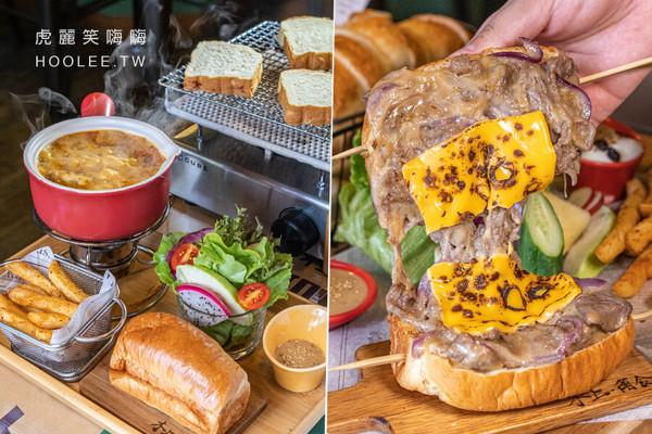 超大牛肉堡+炙燒起司太邪惡!高雄人氣早午餐 叻沙雞腿鍋濃郁肉嫩   ET