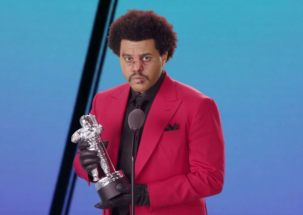 ▲威肯(The Weeknd)VMA,MTV VMA。(圖/CFP)