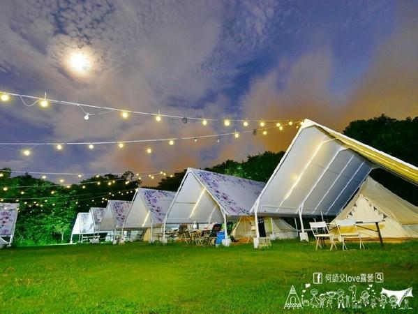 火鍋免費吃!彰化豪華純白帳篷 晚上點燈超浪漫還有滿天星空 | ETtod