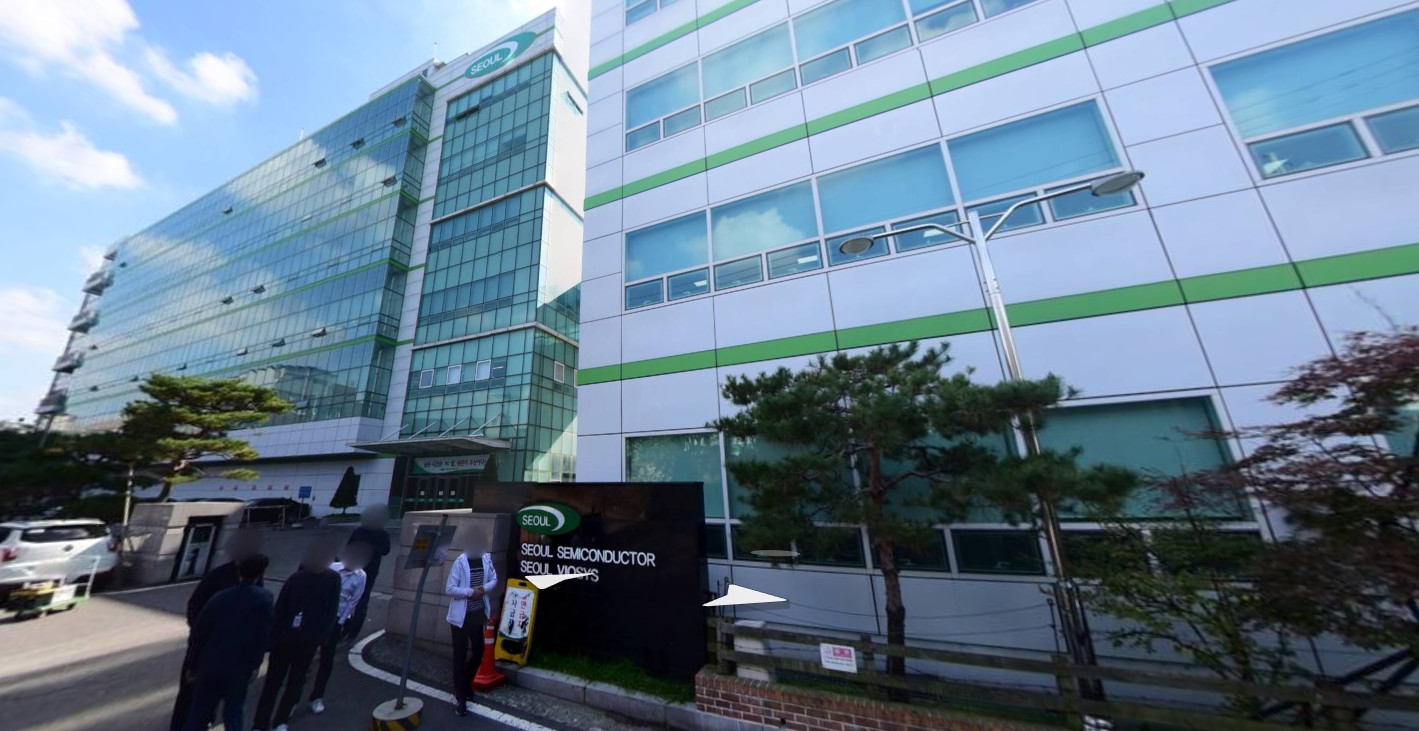 ▲▼首爾半導體控訴,遭台灣LED大廠竊取技術。(圖/翻攝自Naver Map)