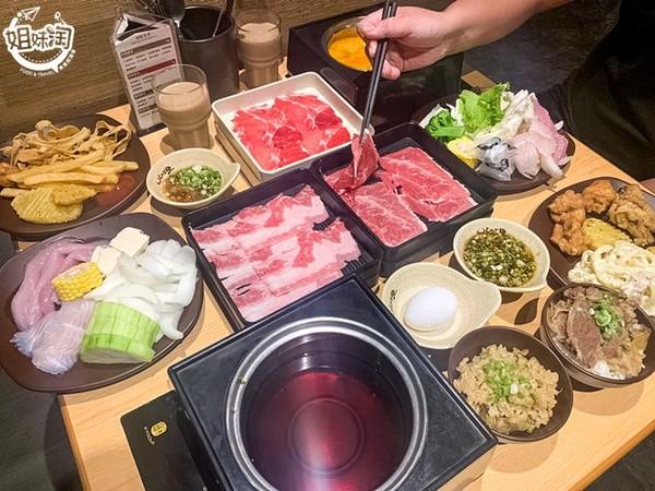 牛肉丼飯無限嗑!高雄超浮誇火鍋吃到飽 鮮魚、蔬菜Buffet任你夾 |