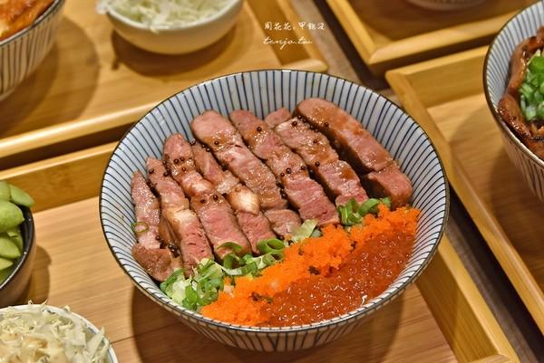 味噌湯、麥茶喝到飽!東區平價丼飯 牛排+鮭魚卵鋪滿飯太罪惡   ETto