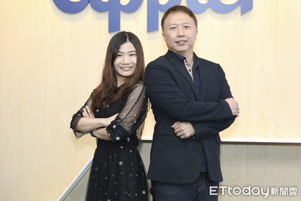 ▲▼Appier 與 草莓網媒體溝通會-黃琬珺,楊俊元。(圖/記者黃克翔攝)