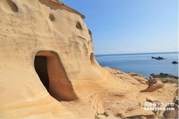 秒飛摩洛哥!野柳隱藏版碉堡秘境 俯瞰整片湛藍大海超忘憂 | ETtoda
