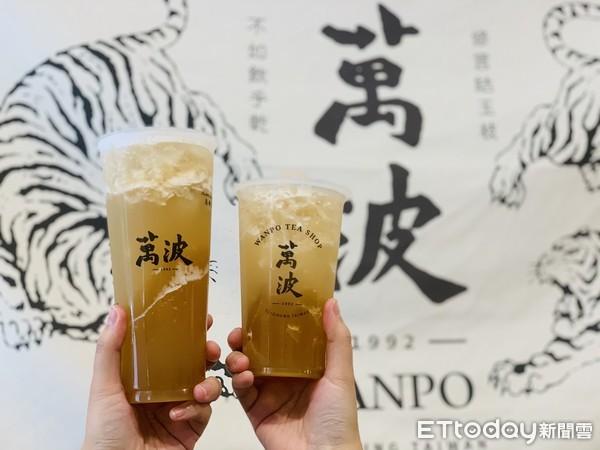 影/每口狂吸荔枝凍、厚實果肉!萬波「荔枝綠茶」新報到 只賣1個月