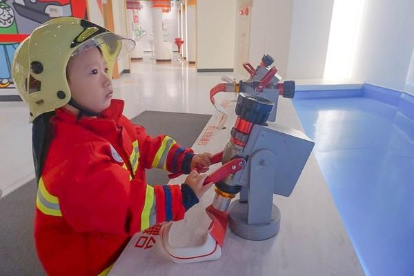 一日小小消防員!免費玩桃園消防教育館 超擬真地震體驗教保命 | ETto