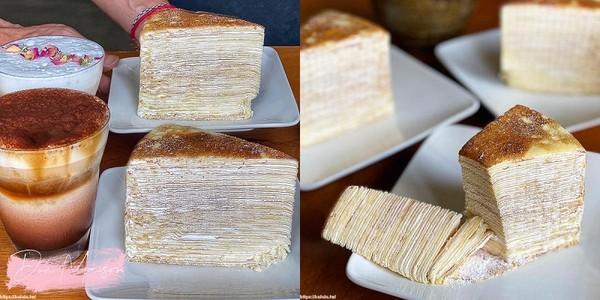 整整52層厚!台南超浮誇千層蛋糕 入口楓糖香氣在舌尖綻放太療癒 | ET
