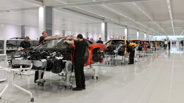 ▲2011年興建McLaren Production Centre。(圖/翻攝Foster + Partners)