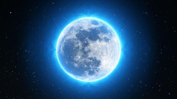 一個月有2次滿月!罕見「藍月」天文奇景10/31登場 抬頭就看得到
