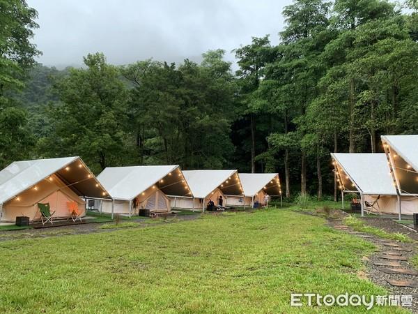 帳篷都有獨立衛浴!全台4間療癒豪華露營 還能看海吃麻辣鍋、牛排 | ET