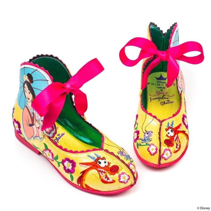 ▲▼花木蘭聯名鞋款(圖/翻攝自Irregular Choice官網)