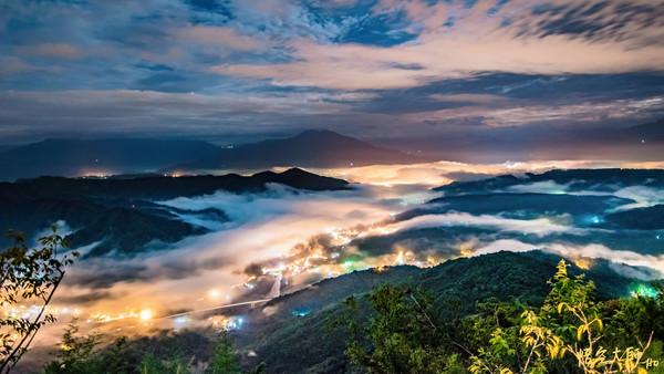 重返921震爆點!他用3年縮時攝影 拍下九份二山日出、琉璃光雲海 | E