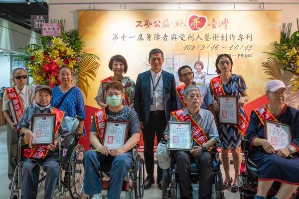 15位身心障礙者、受刑人創作藝術展!百件作品中正紀念堂展出 | ETto