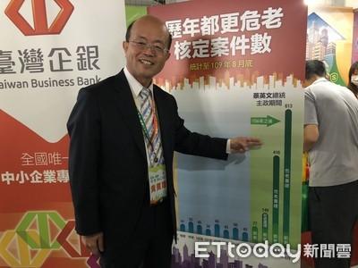 台企銀前董座黃博怡請辭案 財政部揭原因「獲利衰退、違反公司治理」