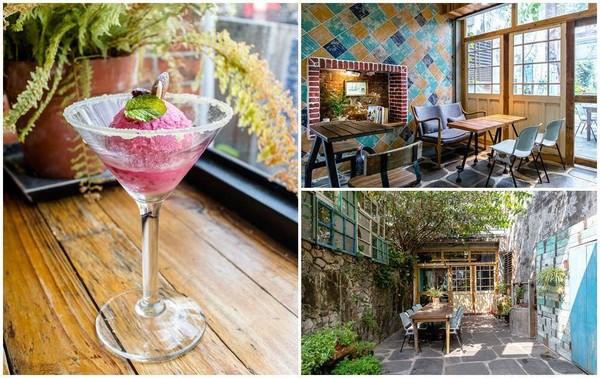搭上時光機!恆春百年穀倉咖啡 復古又夢幻的空靈庭院超好拍
