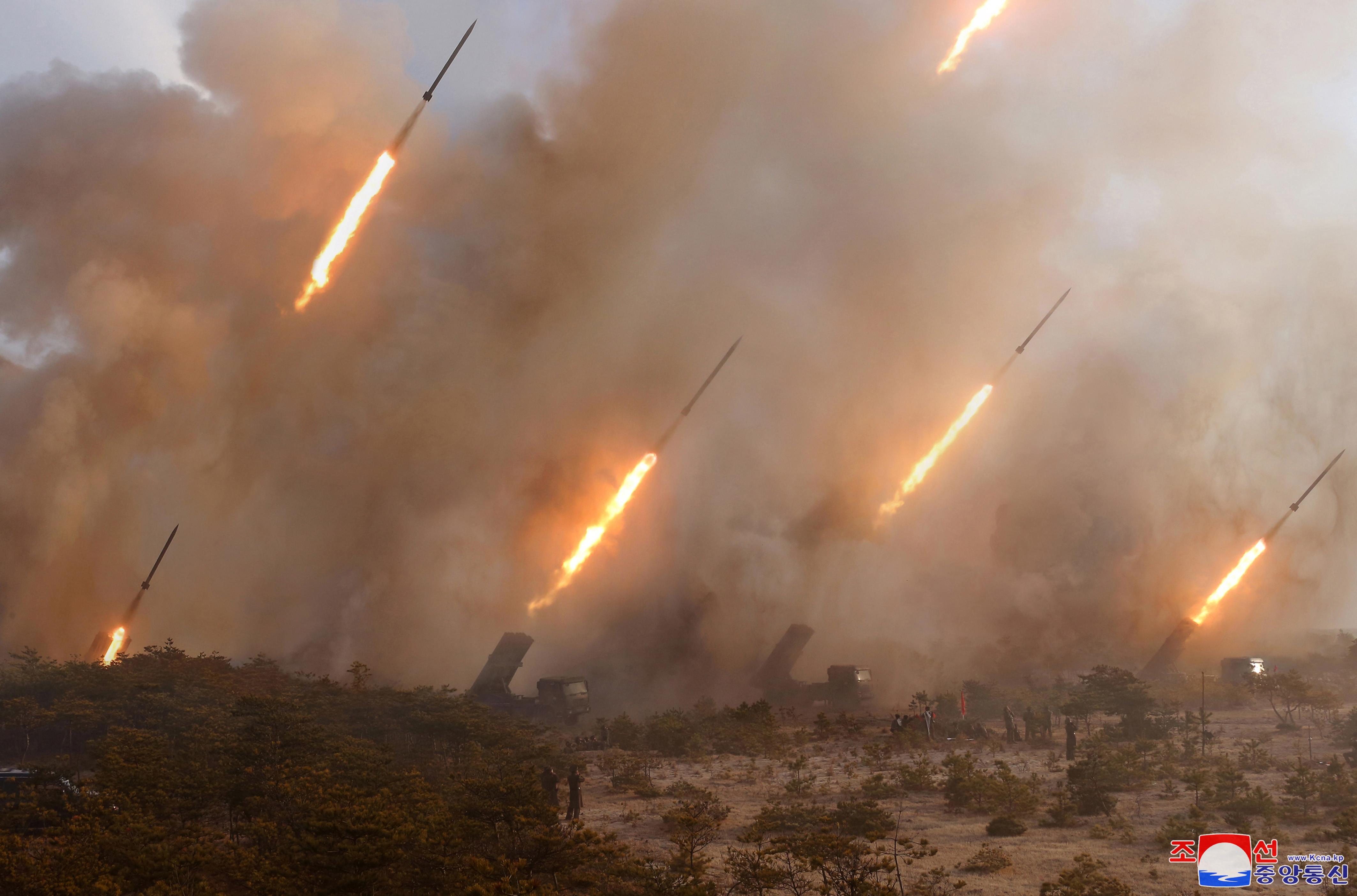 ▲▼北韓表示,若南韓持續進行軍事挑釁危及朝鮮半島和平,將迎來悲慘結局。(圖/達志影像)