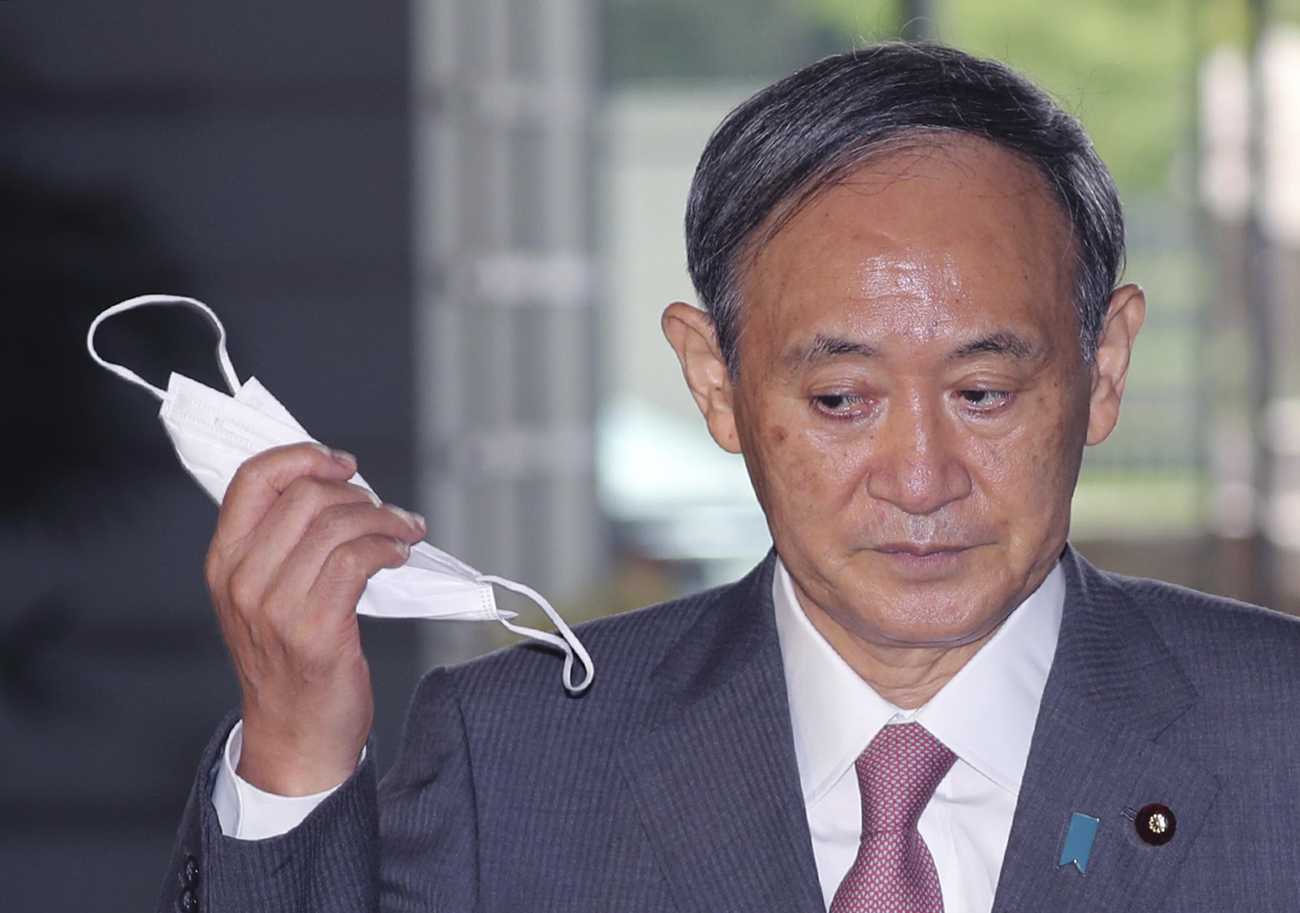 ▲▼菅義偉成為日本第99屆首相。(圖/達志影像/美聯社)
