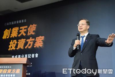 國發會:創業天使投資共扶植114家新創 已投入16.2億元