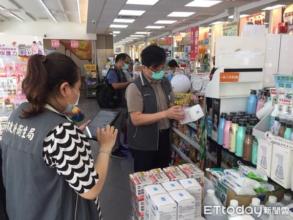 台南市衛生局加強口罩稽查 守護市民健康安全 | ETtoday地方新聞