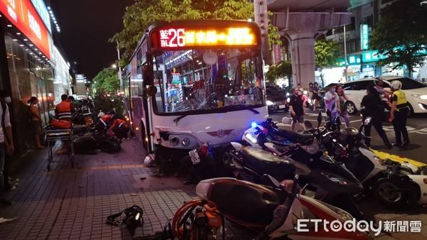 [新聞] 內湖公車撞24機車奪命、警員送醫 肇事原
