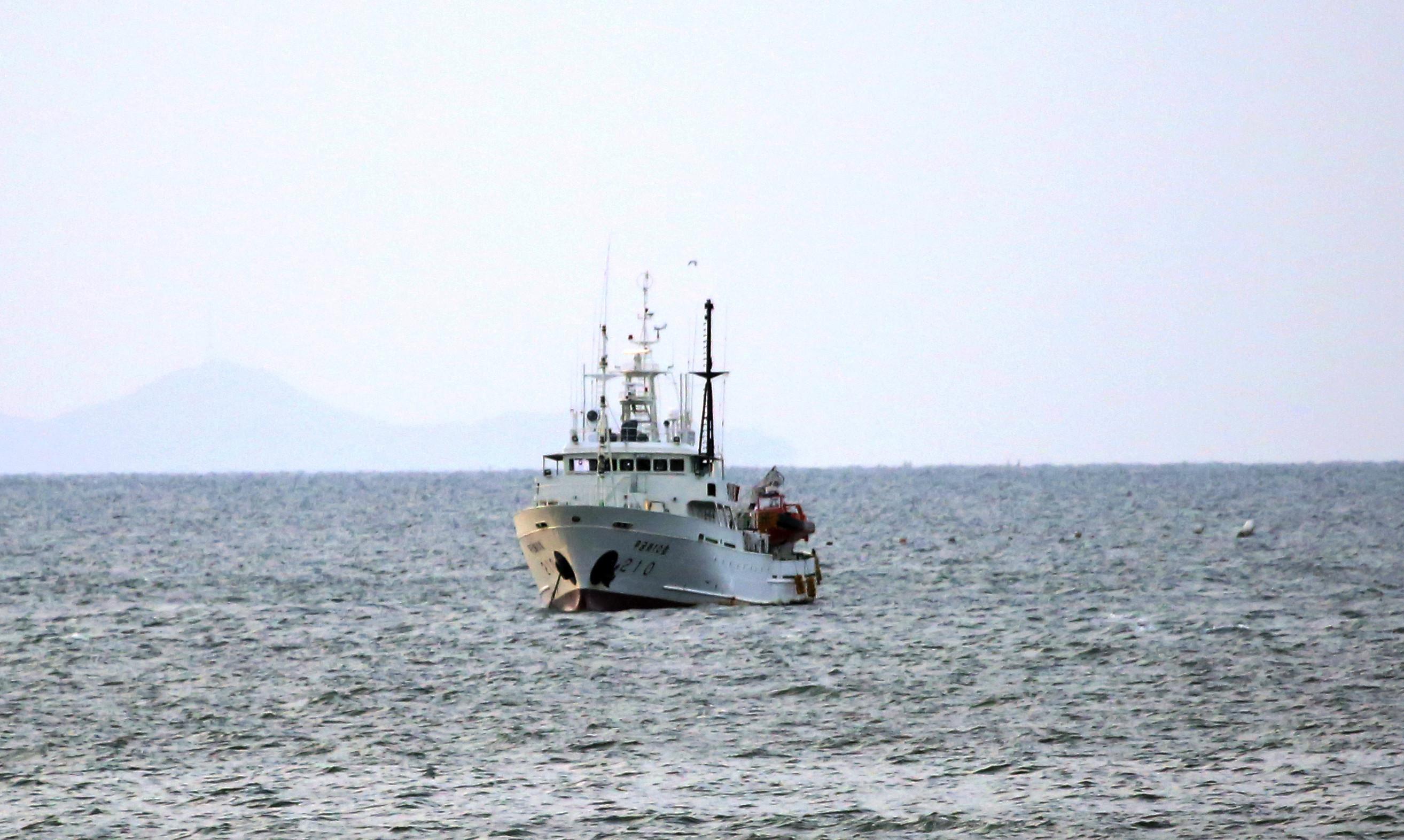 ▲▼「無窮花10號」於27日中午返抵木浦港。(圖/達志影像/美聯社)