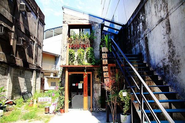 隱身巷弄中!宜蘭廢墟風咖啡廳 必點限量咖哩飯、濃郁抹茶蛋糕 | ETto