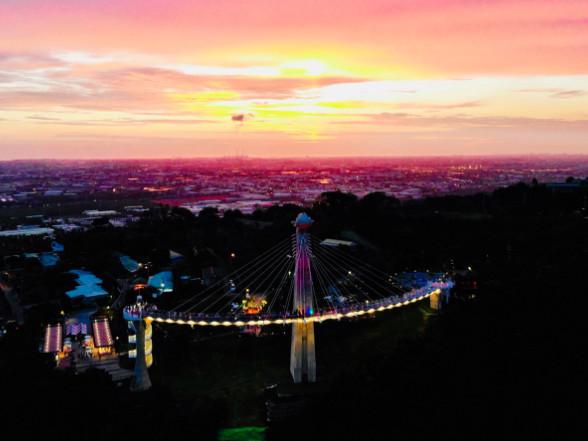 高雄浪漫約會看夜景 崗山之眼10月起五、六延長開放至晚間9點 | ETt