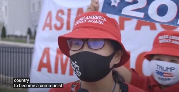 """中国移民现身川普竞选片谴责民主党:想让美国变""""共产"""""""