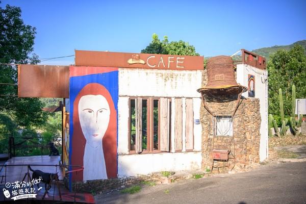 只賣3種飲料!南投超酷紅磚咖啡廳 眺望整片翠綠山景太放鬆 | ETtod